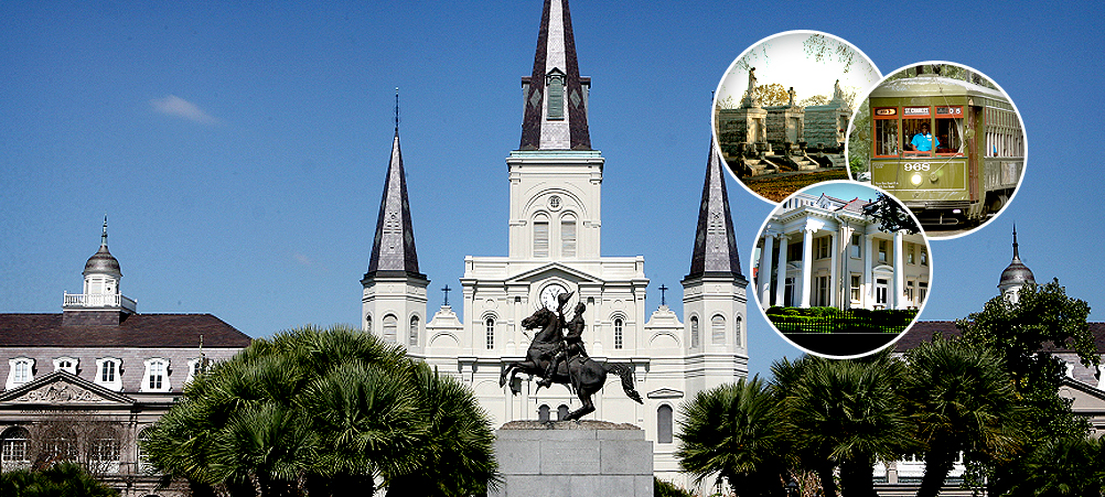 New Orleans City and Cemetery Tour
